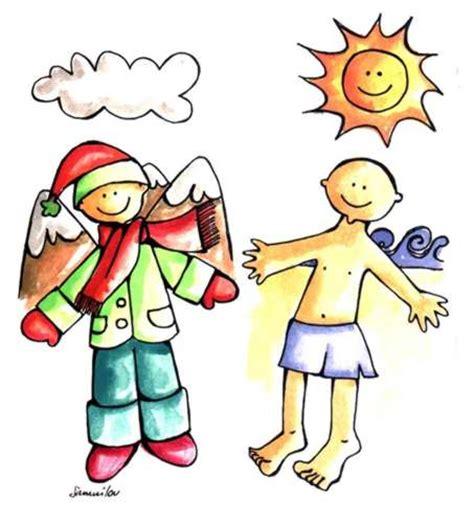 imagenes animadas que frio dibujos de calor y frio imagui