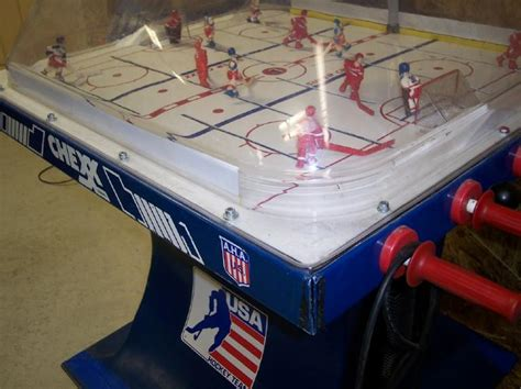 bubble hockey table for bubble hockey history how dome hockey was invented
