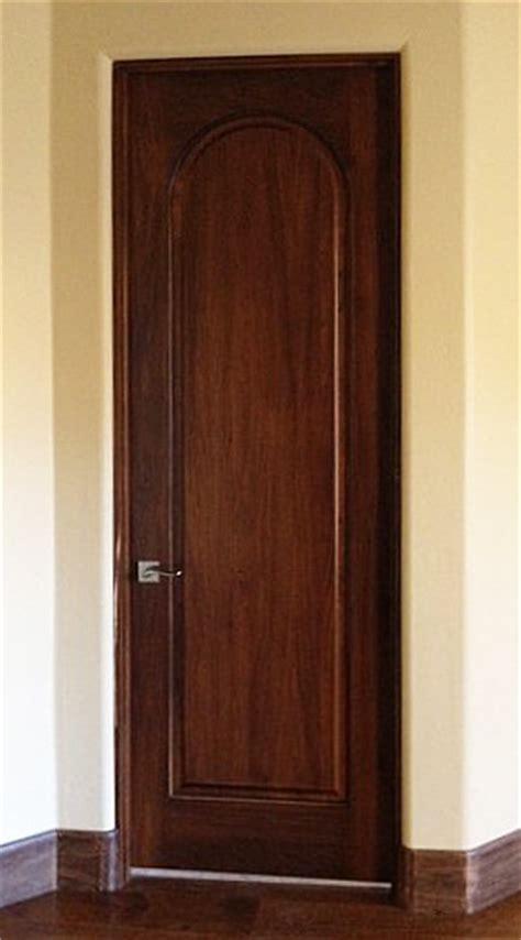 tuscany style doors 1 panel radius arch top