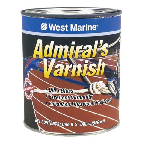 boat varnish west marine admiral s varnish west marine