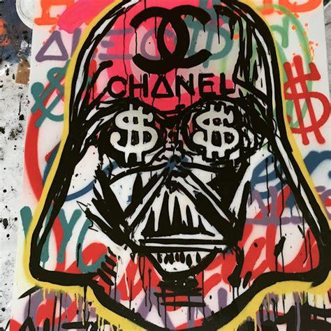 chanel graffiti