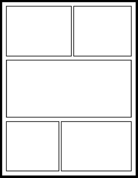 Printable Blank Comic Template For by Comic Template For Students Template Comic