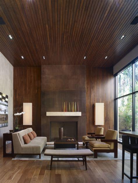 wood panel ceiling designs ideas design trends
