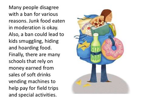To Ban Or Not To Ban by Should Schools Ban Junk Food And Sodas