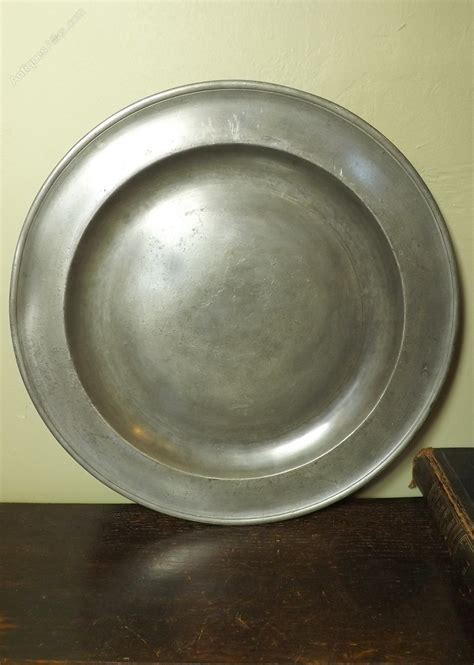 pewter chargers antiques atlas pewter charger