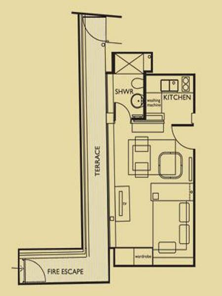 layout apartment london studio apartment apartment layout ln 656