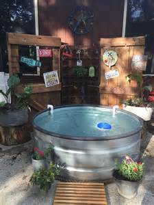 Stock Tank Pool by Make Your Own Stock Tank Pool Homestylediary Com
