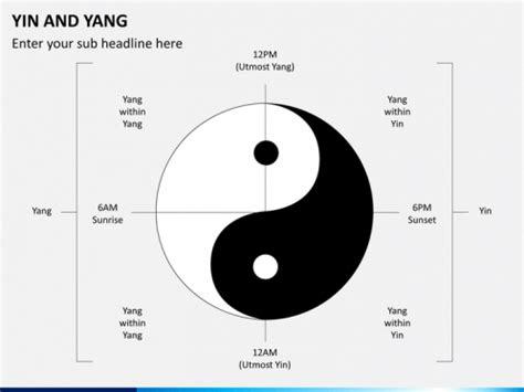 yin yang card template yin and yang powerpoint template sketchbubble