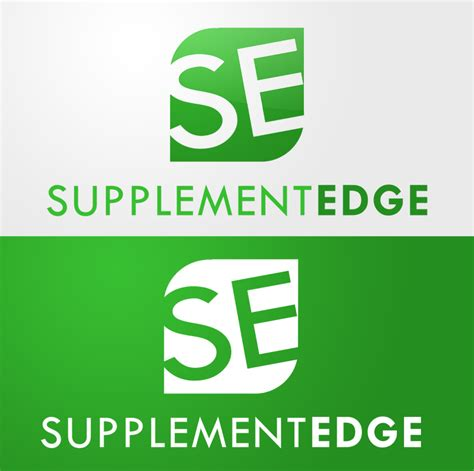 supplement edge supplement edge logo concept 3 by decypher design on