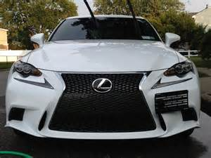 Lexus Front License Plate 2014 Is License Bracket From Grimmspeed Club Lexus Forums