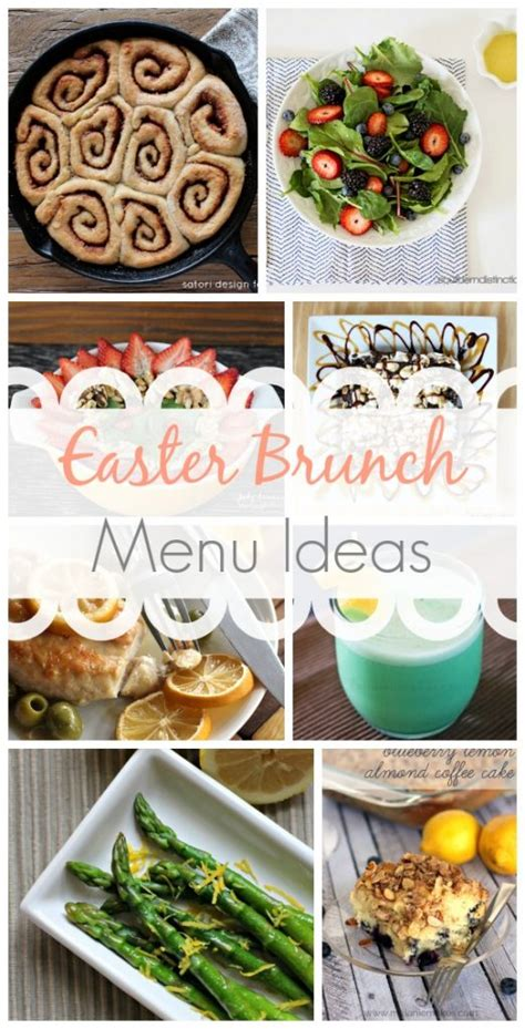 easter brunch menu cake ideas and designs