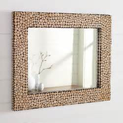 Bathroom Mirror Ideas Diy interesting idea for mirror frame made out of little pieces of cut