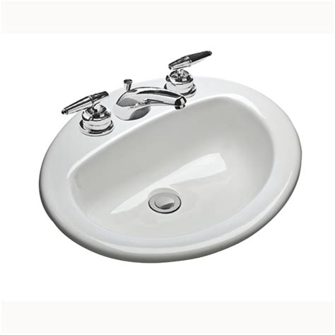 Mansfield Sink by Mansfield Plumbing 237 4 20 Inch X 17 Inch White Oval