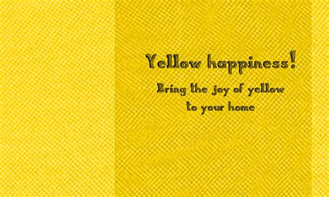 color of happiness yellow happiness