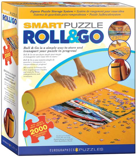Eurographics Smart Puzzle Roll Go Mat Hobbies And Beyond Smart Puzzle