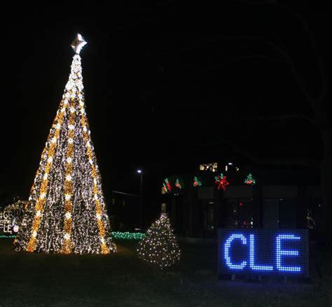 ge nela park christmas light display 2015