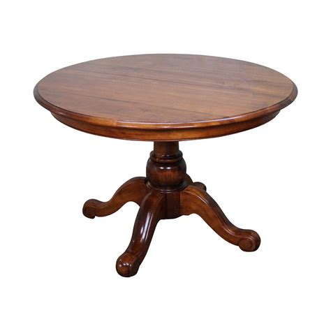 ethan allen country dining table and chairs ethan allen country crossings pedestal dining table