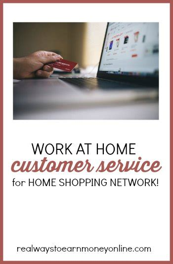 home shopping network let you work from home