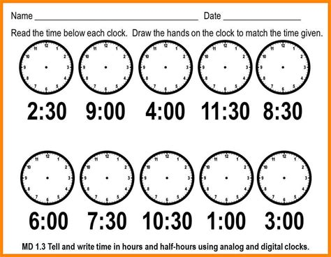 Time Telling Worksheets by 6 Time Worksheets For Grade 1 Liquor Sles