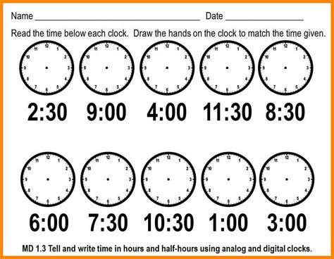 free printable time math sheets 6 time worksheets for grade 1 liquor sles