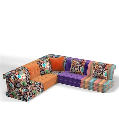 roche bobois sectional sofa roche bobois sectional 3d model
