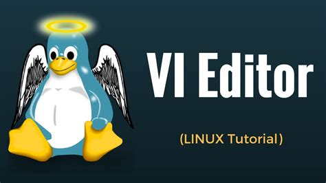 tutorial linux youtube vi editor linux tutorial 14 youtube