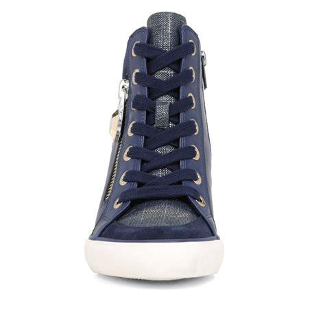 wedges sneakers for aldo aalessa wedges sneakers in blue lyst