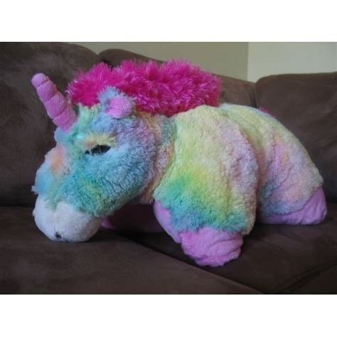 Rainbow Unicorn Pillow Pet by Pillow Pet Rainbow Unicorn Large Other