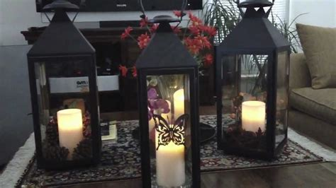how to decorate with pictures decorating with lanterns for every season youtube