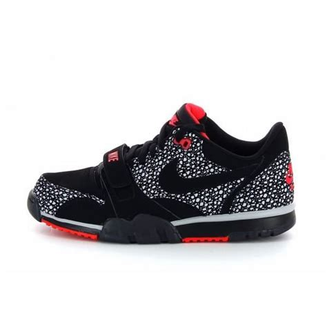 Nike Air Trainer Low basket nike air trainer low 1 st noir noir achat