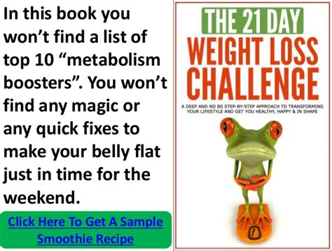 4 weight loss challenge the 21 day weight loss challenge