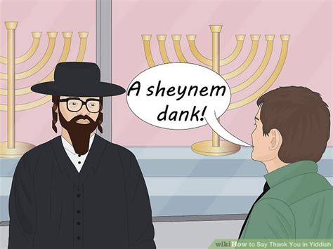 dank yiddish how to say thank you in yiddish 4 steps with pictures wikihow