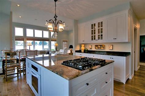 kitchen island with stove custom kitchen island with range kitchen makeover