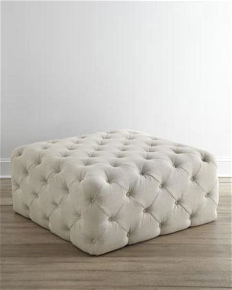 target white ottoman button tufted upholstered ottoman sandstone target