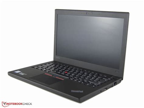 Lenovo X260 Test Lenovo Thinkpad X260 I5 Wxga Notebook Notebookcheck Tests