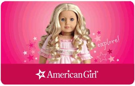 American Girl Gift Card Costco - 4 pack of 25 american girl gift cards only 79 99