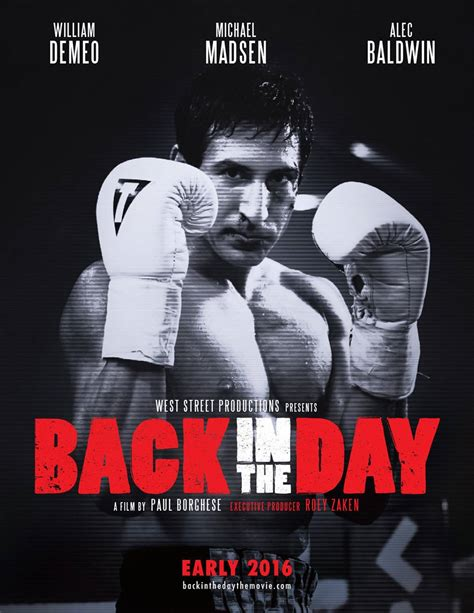 One Day Back In 2004 by Back In The Day 2016 Poster 1 Trailer Addict