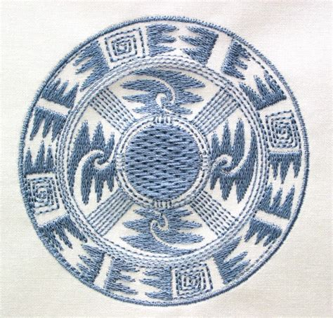 pueblo designs machine embroidery designs