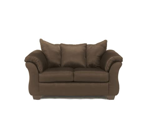 furniture signature design darcy cafe loveseat