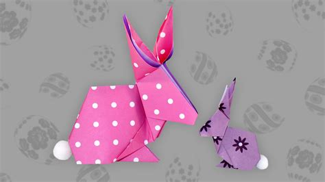 Origami Hase Faltanleitung by Origami Hase Bunny Faltanleitung Live Erkl 228 Rt