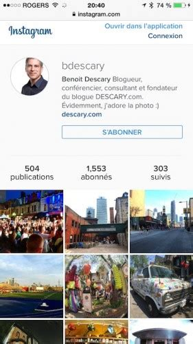 instagram mobile version la nouvelle version web d instagram fait plus de place aux