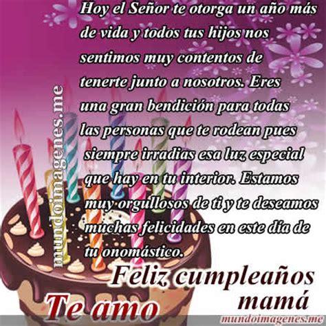 imagenes cumpleaños a mama imagenes de feliz cumplea 241 os mam 225 con frases bonitas