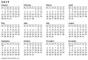 Colombia Kalender 2018 2019 Calendar Pdf 2018 Calendar Printable