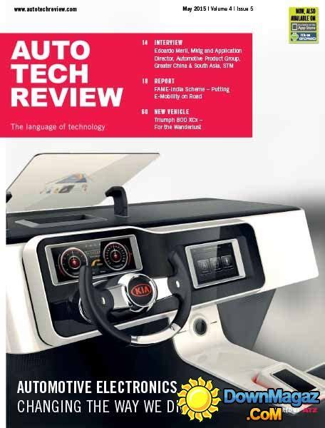 Auto Tech Review   May 2015 » Download PDF magazines