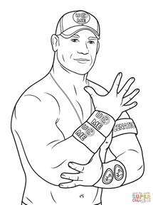 John Cena Coloring Page Free Printable Coloring Pages Cena Coloring Pages To Print