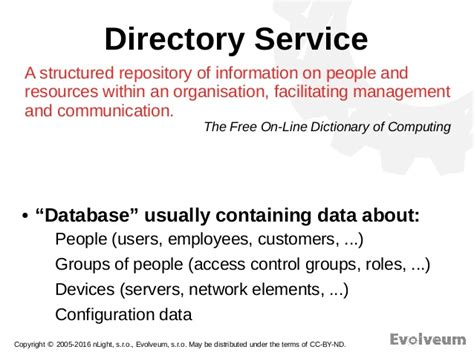 Finder Services Introduction To Ldap And Directory Services