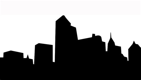 skyline silhouette cliparts co skyline clipart cliparts co