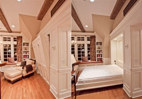 Dresser Into Bookcase Maximize Small Spaces Murphy Bed Design Ideas