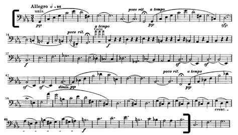 beethoven symphony 5 beethoven symphony 5 mvt 3 cello excerpt for auditions
