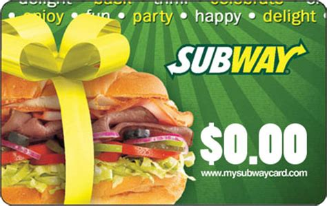 Check Amount On Subway Gift Card - shoppers drug mart issuing empty subway canada gift cards canadian freebies coupons